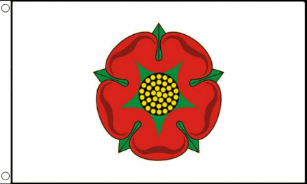 Lancashire County Flag 5ft x 3ft